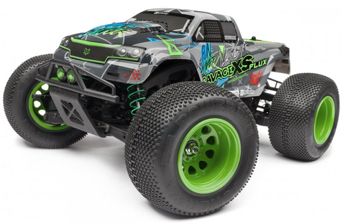 HPI Racing Savage XS Flux Vaughn Gittin Jr RTR Mini Monster Truck