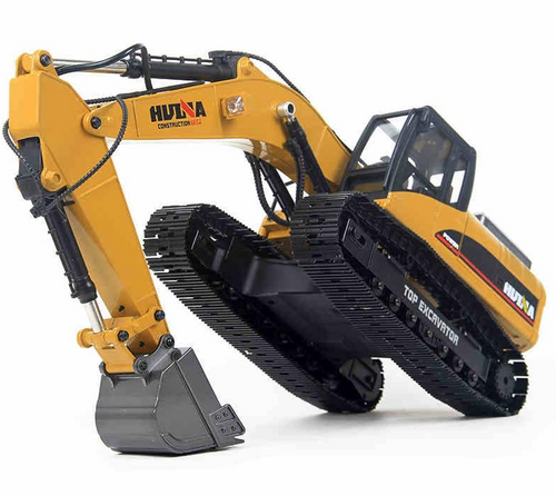 Huina 1/14 23Ch Full Metal RC Excavator In Gift Case!