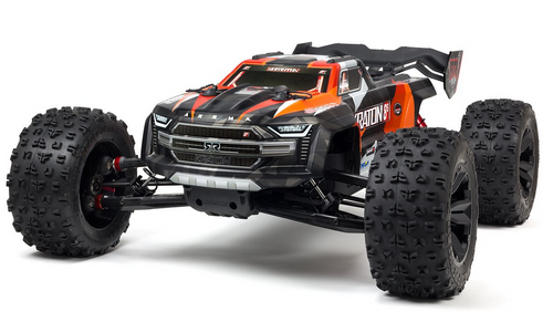 Arrma 1/5 KRATON 4X4 8S BLX Brushless Speed Monster Truck RTR Orange