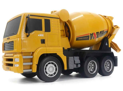 Huina 1/18 2.4G 6Ch Concrete Mixer RC Truck