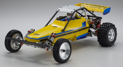 Kyosho 1/10 Scorpion Retro EP 2WD Offroad Buggy Kit