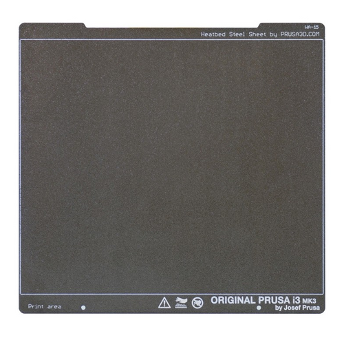Prusa Double-sided Textured PEI Powder-coated Spring Steel Sheet