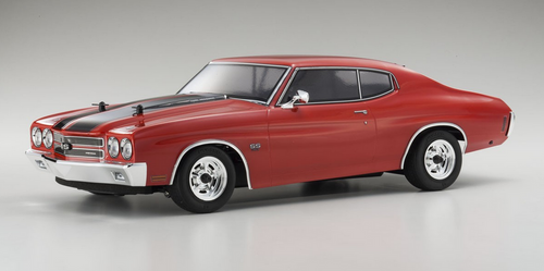 Kyosho 1970 Chevy® Chevelle® SS™454 LS6 Cranberry Red 1/10 Brushless Readyset w/Batt & Charger