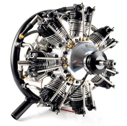 UMS 7 Cylinder 50CC PETROL RADIAL ENGINE