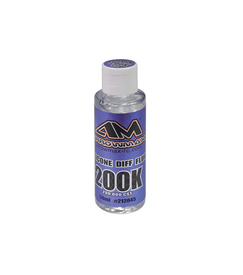 Arrowmax Silicone Diff Fluid 59ml 200,000CST