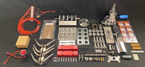 1/4 Scale V8 Nitro Engine Assembly Kit
