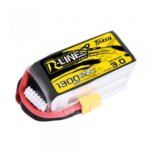 Tattu R Line 1300mah 6S 22.2V 120C LiPo Battery