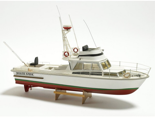 Billings Boats 1/15 Scale White Star RC Capable Kit