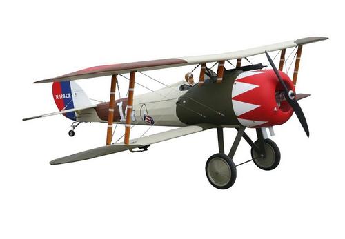 Seagull Models Nieuport 28 RC Plane, 20cc ARF