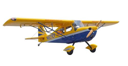 Seagull Models Decathlon 3D 50CC ARF -3M Yellow