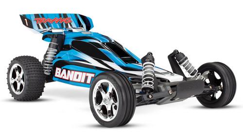 Traxxas 24054-1 Bandit XL-5 1/10 2WD RTR RC Buggy Blue