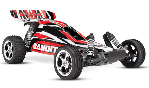 Traxxas 24054-1 Bandit XL-5 1/10 2WD RTR RC Buggy Red