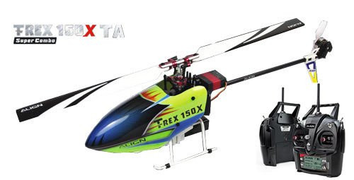 Align T-REX 150X RC Helicopter TA RTF