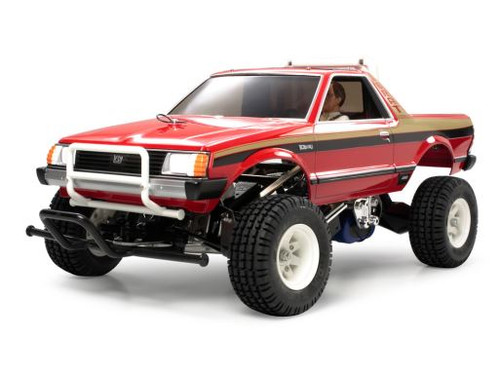 Tamiya 58384 1/10 Subaru Brat 2WD R/C Truck Kit