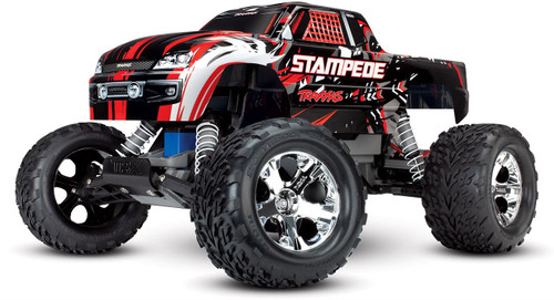 Traxxas 36054-4 Stampede 1/10 Scale Monster Truck with TQ 2.4GHz