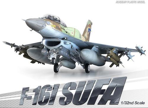 Academy 12105 1/32 Lockheed Martin F-16I SUFA Model Kit