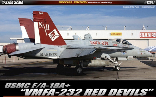 Academy 12107 1/32 F/A-18 + VMFA-232 Red Devils and Australian Decals