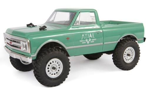 Axial 1/24 SCX24 1967 Chevrolet C10 4WD RTR Crawler Green