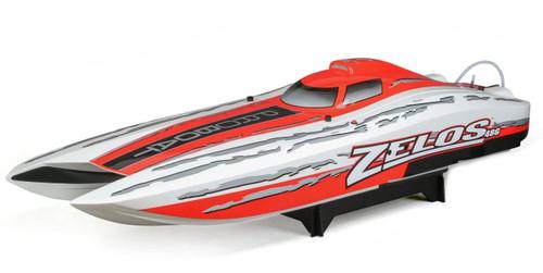 Pro Boat 48in. Zelos G Catamaran 30cc Zenoah Gas RTR 50+Mph