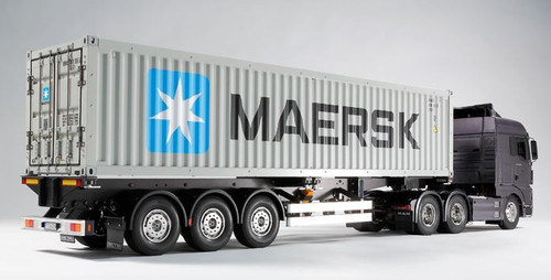 Tamiya 56326 1/14 40ft Container Semi-Trailer for RC Trucks