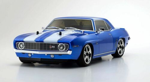Kyosho 1/10 1969 Chevy Camaro Z/28 4WD FW-06 GP ReadySet