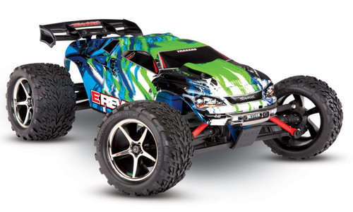 Traxxas 71054-1 E-Revo Brushed 1/16 4WD RTR RC Monster Truck Green