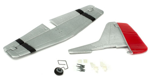 ParkZone UM P-51D Mustang Complete Tail w/Accessories