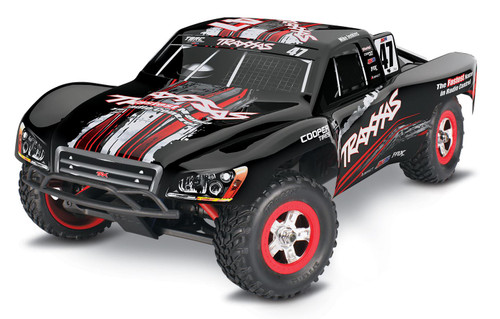 Traxxas 70054-1 Slash Brushed 1/16 4WD RC Short Course Truck Mike Jenkins Edition