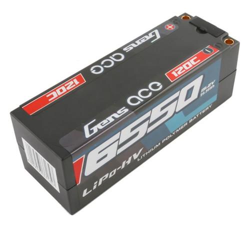 Gens-Ace 6550mAh HV 15.2V 120C 4S1P HardCase Lipo Battery