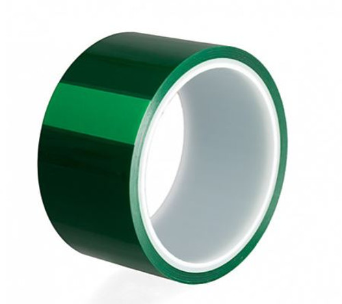 Green Smooth PET Tape Roll 50mm x 33M