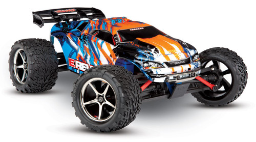 Traxxas 71054-1 E-Revo Brushed 1/16 4WD RTR RC Monster Truck Orange