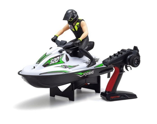 Kyosho 40211T1 1/6 EP RS Wave Chopper 2.0 Green w/Batt&Charger