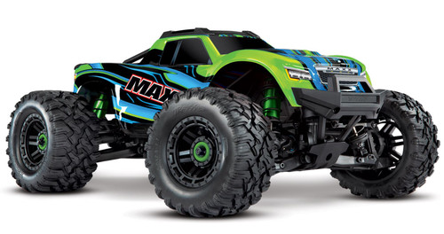 Traxxas 89076-4 Maxx 1/10 Scale 4WD Brushless Electric Monster Truck GREEN