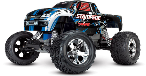Traxxas 36054-1 Stampede XL-5 1/10 2WD RTR RC Monster Truck BlueX