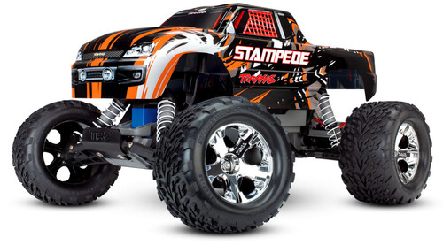 Traxxas 36054-1 Stampede XL-5 1/10 2WD RTR RC Monster Truck Orange