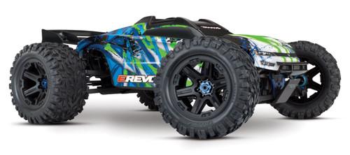 Traxxas 86086-4 E-Revo V2 1/10 4WD Brushless RC Monster Truck Green