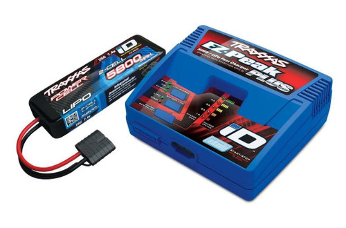 Traxxas 2992 - 2s Battery/Charger Completer Pack 5800mAh 2S