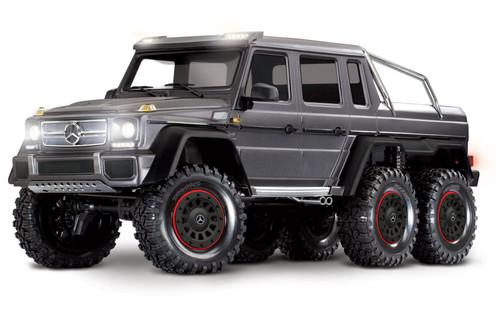 Traxxas 88096-4 TRX-6 Mercedes-Benz G 63 AMG 6x6 Silver