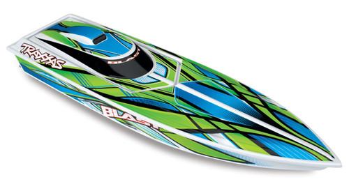 Traxxas 38104-1 Blast RC Race Boat Green