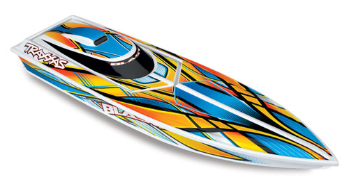 Traxxas 38104-1 Blast RC Race Boat Orange