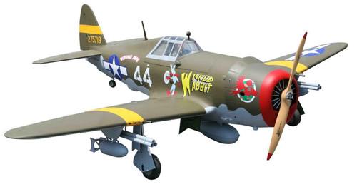 Seagull Models P-47 Wicked Rabbit 81in span (50cc-60cc)