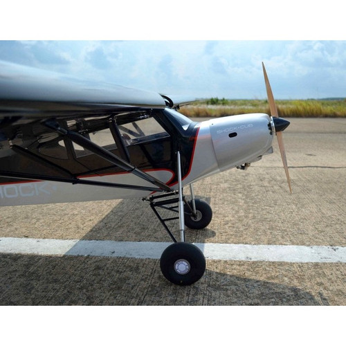 Seagull Models NEW July 2020 Shock Cub 38-50cc-102in span Silver w/Wingbags