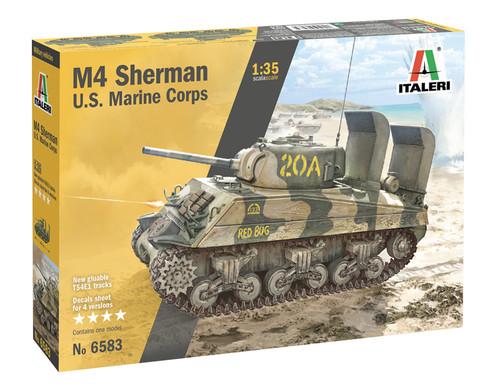 Italeri 1/35 M4 Sherman U.S Marine Corps