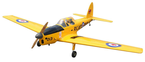 """Seagull Models 1/5 Scale DHC-1 Chipmunk 80"""" 20cc Yellow"""