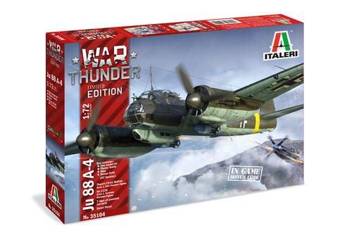 Italeri 1/72 War Thunder JU-88 A-4 Limited Edition