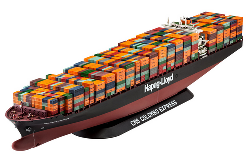 Revell 1/700 Columbo Container Ship w/Etched Parts