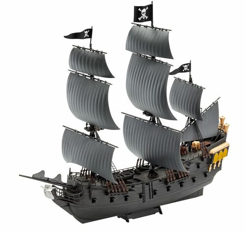 Revell 1/150 Black Pearl Pirate Ship Easy-Click
