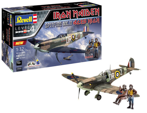 """Revell 1/32 Spitfire Mk.II """"Aces High"""" Iron Maiden"""