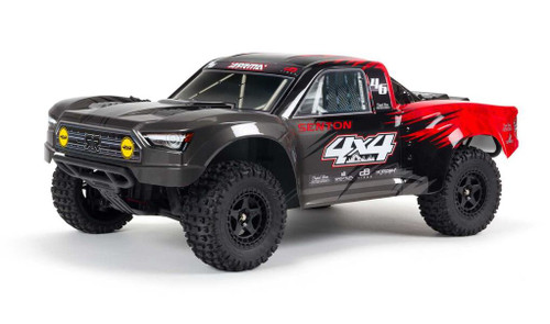 Arrma NEW 1/10 SENTON 4X4 V3 MEGA 550 Brushed Short Course Truck RTR Red