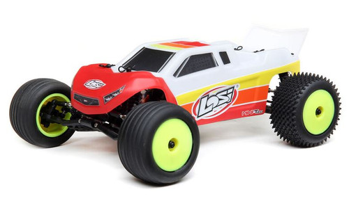 Losi 1/18 Mini-T 2.0 2WD Stadium Truck Brushless RTR Red